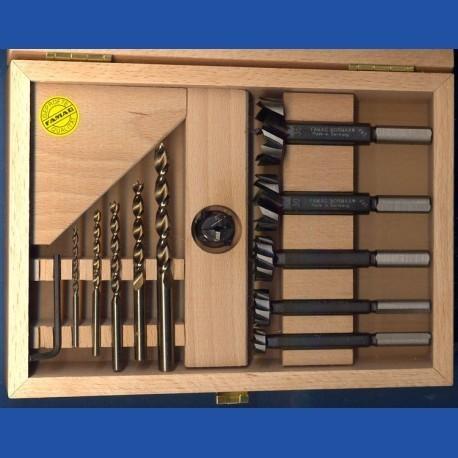 FAMAG Hochleistungs-Holzbohrer Kombi-Set