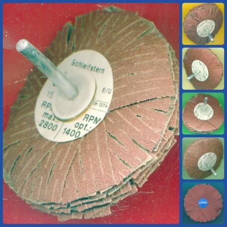 rictools Schleifstern Maxi-Sortiment, 6 Stück