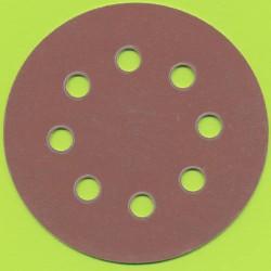 Kaindl Haft-Schleifscheiben HL – Ø 115 mm 8-fach gelocht, K320 sehr fein