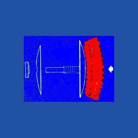 Kaindl Universal-Schleifgerät – mit 3 Schleifkissen (2 x K80 grob und 1 x K180 fein)