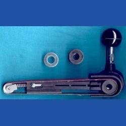 Kaindl Band-Schleiffeile – für Bohrmaschinen und Einhand-Winkelschleifer mit 43 mm Euronorm-Hals