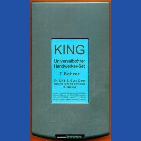 KING Universalbohrer Handwerker-Set