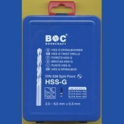 Bohrcraft Stahlbohrer HSS-G Profi-Set