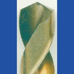 rictools Edelstahlbohrer HSS-G-Co Ø 13 mm – Schaft auf 10 mm abgedreht