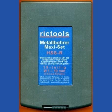 rictools Metallbohrer HSS-R