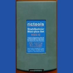 rictools Stahlbohrer HSS-G Maxi-plus-Set