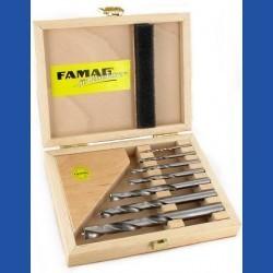 FAMAG Holzspiralbohrer HM-bestückt Montage-Set