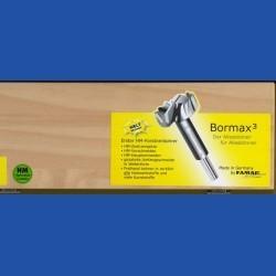 Bormax³by FAMAGhartmetallbestückter Forstnerbohrer Maxi-Set