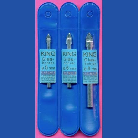 KING Glasbohrer Basis-Set