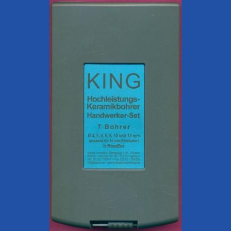 KING Hochleistungs-Keramikbohrer Handwerker-Set