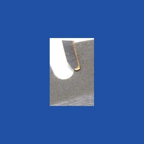 Schärfen eines hartmetallbestückten Flach- oder Wechselzahn-Kreissägeblatts bis Ø 500 mm mit 14 bis 18 Zähnen