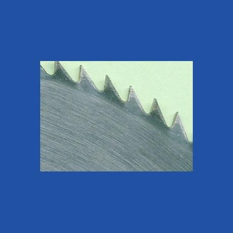 Schärfen eines Chrom-Vanadium-Kreissägeblatts Ø über 200 bis 250 mm