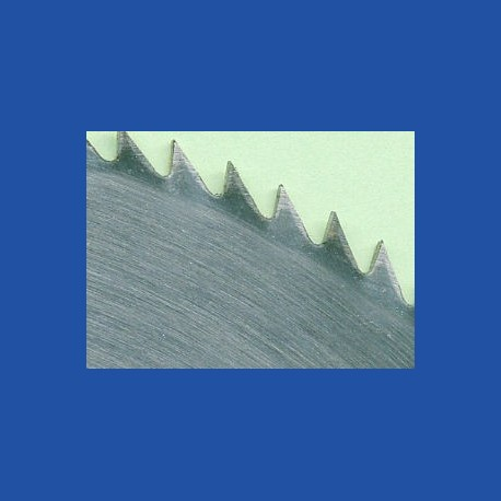 Schärfen eines Chrom-Vanadium-Kreissägeblatts Ø über 250 bis 315 mm