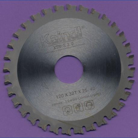 Kaindl XTR-S 2.0 Multisägeblatt für Einhand-Winkelschleifer als Ersatz* und Kreissägen – Ø 120 mm