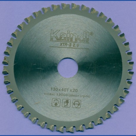 Kaindl XTR-S 2.0 Multisägeblatt für Kreissägen – Ø 130 mm, Bohrung 20 mm