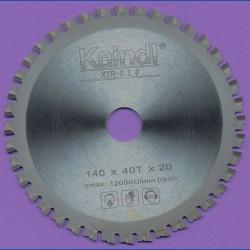 Kaindl XTR-S 2.0 Multisägeblatt für Kreissägen – Ø 140 mm, Bohrung 20 mm