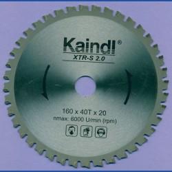 Kaindl XTR-S 2.0 Multisägeblatt für Kreissägen – Ø 160 mm, Bohrung 20 mm