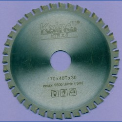 Kaindl XTR-S 2.0 Multisägeblatt für Kreissägen – Ø 170 mm, Bohrung 30 mm