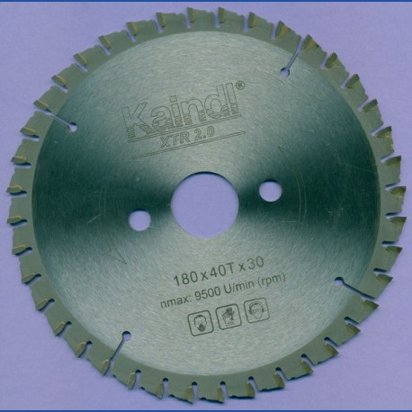 Kaindl XTR 2.0 Multisägeblatt für Kreissägen – Ø 180 mm, Bohrung 30 mm