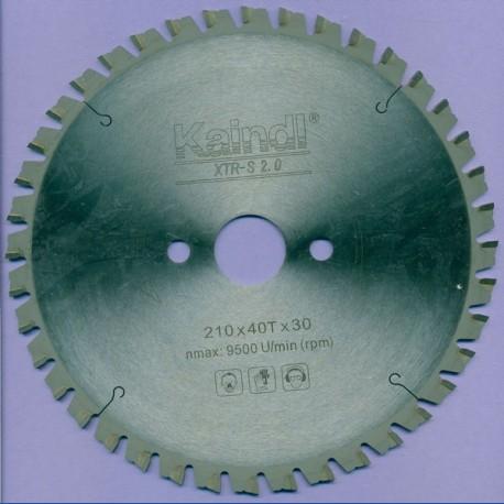Kaindl XTR-S 2.0 Multisägeblatt für Kreissägen – Ø 210 mm, Bohrung 30 mm