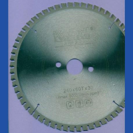 Kaindl XTR-S 2.0 Multisägeblatt für Kreissägen – Ø 240 mm, Bohrung 30 mm