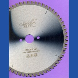 Kaindl XTR-S 2.0 Multisägeblatt für Kreissägen – Ø 260 mm, Bohrung 30 mm