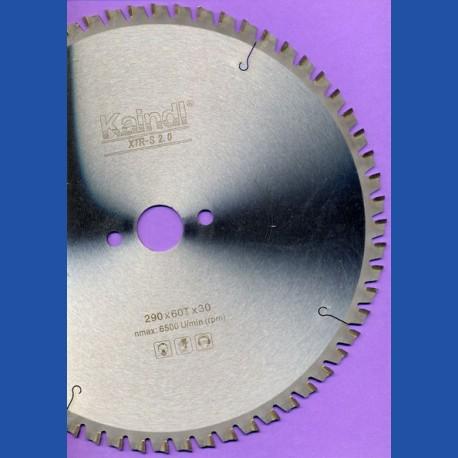 Kaindl XTR-S 2.0 Multisägeblatt für Kreissägen – Ø 290 mm, Bohrung 30 mm