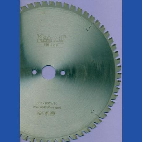 Kaindl XTR-S 2.0 Multisägeblatt für Kreissägen – Ø 300 mm, Bohrung 30 mm
