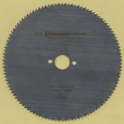 H.O. Schumacher+Sohn Kreissägeblatt Chrom-Vanadium C Feinstzahn – Ø 160 mm, Bohrung 20 mm
