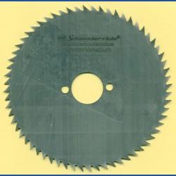 H.O. Schumacher+Sohn Kreissägeblatt Chrom-Vanadium B Feinzahn – Ø 160 mm, Bohrung 30 mm
