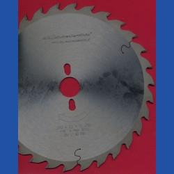 H.O. Schumacher+Sohn Hartmetallbestücktes Präzisions-Kreissägeblatt Typ QW Mittelzahn – Ø 250 mm, Bohrung 30 mm