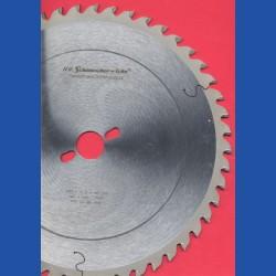 H.O. Schumacher+Sohn Hartmetallbestücktes Präzisions-Kreissägeblatt Typ UW Universalzahn – Ø 300 mm, Bohrung 30 mm