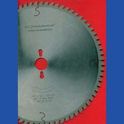 H.O. Schumacher+Sohn Hartmetallbestücktes Präzisions-Kreissägeblatt Typ KW Feinzahn – Ø 300 mm, Bohrung 30 mm