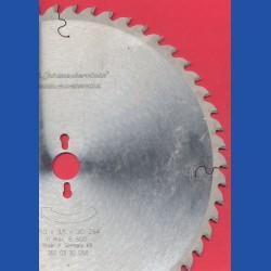 H.O. Schumacher+Sohn Hartmetallbestücktes Präzisions-Kreissägeblatt Typ UW Universalzahn – Ø 350 mm, Bohrung 30 mm