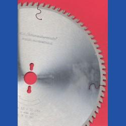 H.O. Schumacher+Sohn Hartmetallbestücktes Präzisions-Kreissägeblatt Typ KW Feinzahn – Ø 350 mm, Bohrung 30 mm