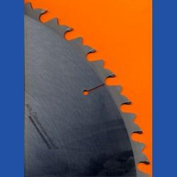 H.O. Schumacher+Sohn Hartmetallbestücktes Zuschneidsägeblatt für Wippsägen Typ LWZ grob – Ø 700 mm, Bohrung 30 mm
