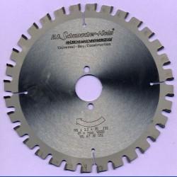 H.O. Schumacher+Sohn Universal-Bau-Kreissägeblatt – Ø 190 mm, Bohrung 30 mm