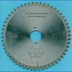 H.O. Schumacher+Sohn Hartmetallbestücktes Kreissägeblatt COMBI – Ø 190 mm, Bohrung 30 mm