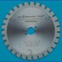 H.O. Schumacher+Sohn Hartmetallbestücktes Kreissägeblatt FERROfix fein – Ø 160 mm, Bohrung 20 mm