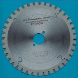 H.O. Schumacher+Sohn Hartmetallbestücktes Kreissägeblatt FERROfix fein – Ø 200 mm, Bohrung 30 mm