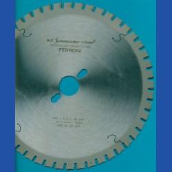 H.O. Schumacher+Sohn Hartmetallbestücktes Kreissägeblatt FERROfix fein – Ø 250 mm, Bohrung 30 mm