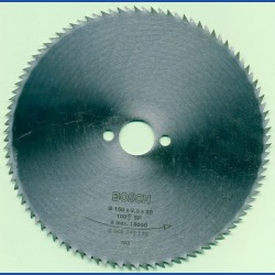 BOSCH Chrom-Stahl-Sägeblatt für Kreissägen – Ø 150 mm, Bohrung 20 mm