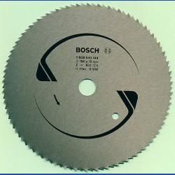 BOSCH Chrom-Stahl-Sägeblatt für Kreissägen – Ø 160 mm, Bohrung 16 mm