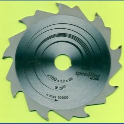 BOSCH speedline WOOD Grobzahn Kreissägeblatt – Ø 150 mm, Bohrung 20 mm