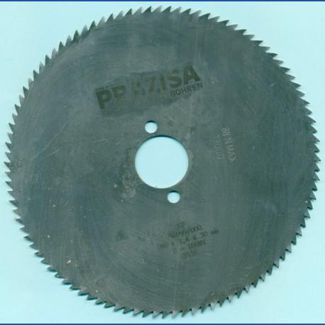 PRÄZISA Jännsch Chrom-Vanadium Kreissägeblatt Type B Feinzahn – Ø 180 mm, Bohrung 30 mm