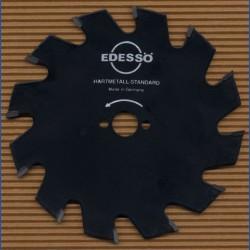 EDESSÖ Hartmetallbestücktes Kreissägeblatt Standard Wechselzahn grob antihaftbeschichtet – Ø 125 mm, Bohrung 13 mm