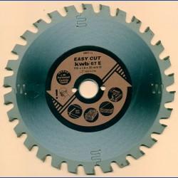 kwb EASY CUT Allzweckblatt Typ E – Ø 190 mm, Bohrung 20 mm
