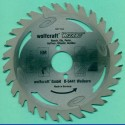 wolfcraft WIZARD Serie silber Handkreissägeblatt HM Flach-Hohlzahn – Ø 170 mm, Bohrung 30 mm