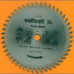 wolfcraft Serie orange Handkreissägeblatt HM Viel-Wechselzahn, Ø 150 mm, Bohrung 13 mm