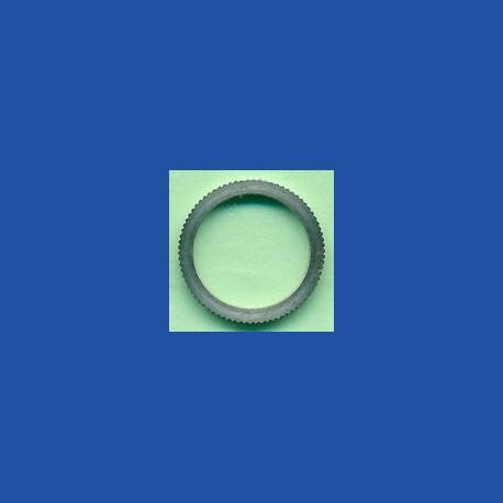 rictools Präzisions-Reduzierring gerändelt dünn – 12,7 mm (1/2'') / 10 mm, Stärke 1,2 mm